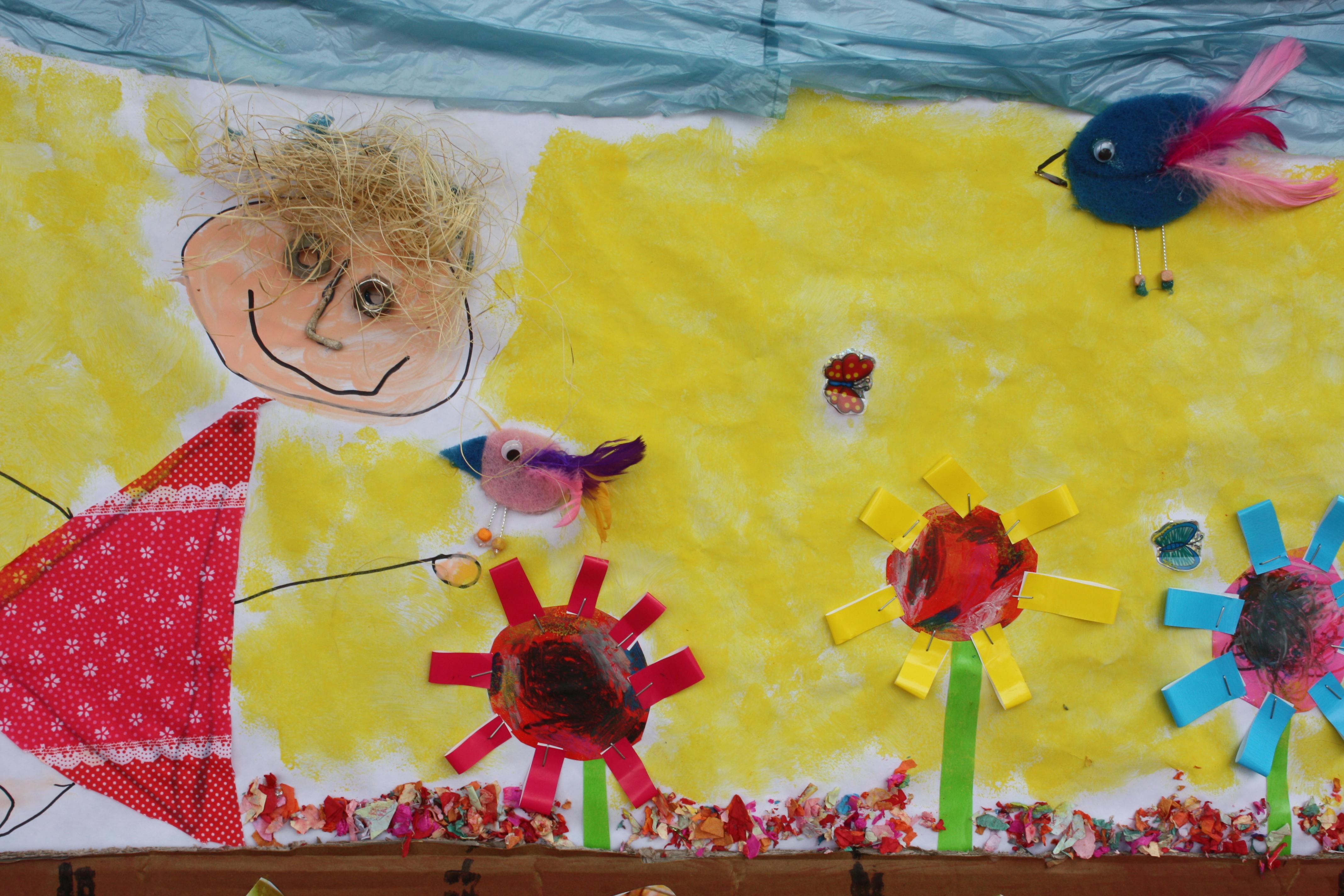 Un p jaro un rbol una vida descuaula for Como pegar papel mural