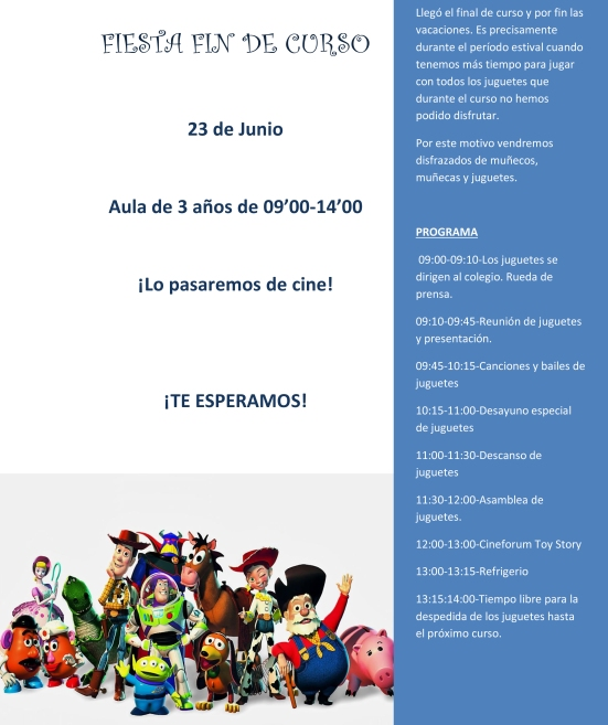Microsoft Word - FIESTA FIN DE CURSO3años