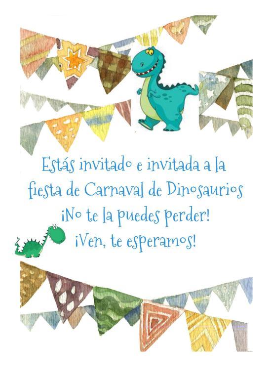 invitacioncarnavaldinosaurios