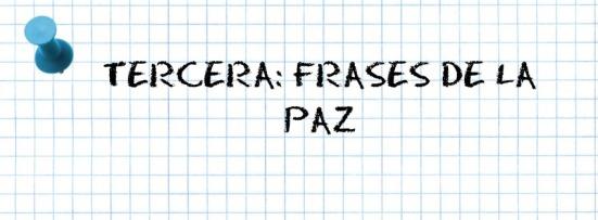TERCERA
